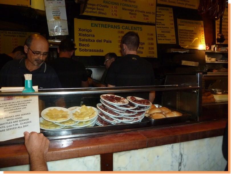 Tacos tapas canpaixano barcelona