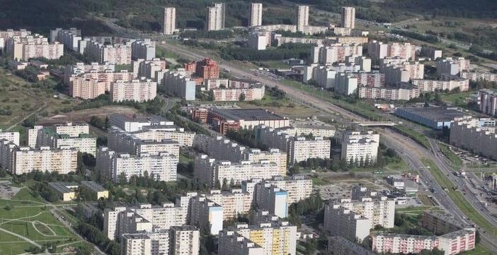 Tallinn quartier russe de Lasnamae