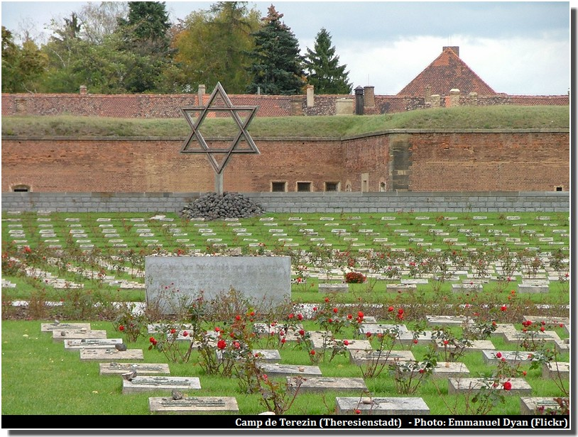 Terezin Theresienstadt memorial camp de concentration nazi