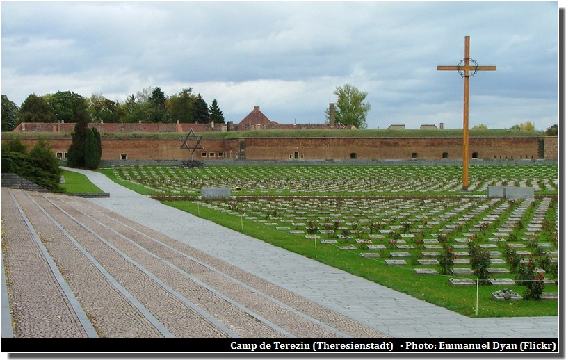 Terezin camp de concentration nazi en republique tcheque