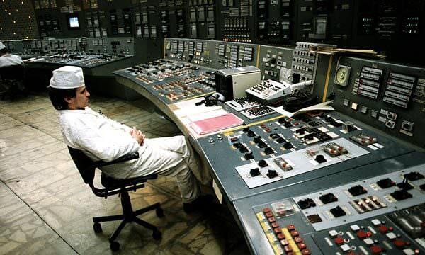 Test de pilotage dans la centrale Tchernobyl
