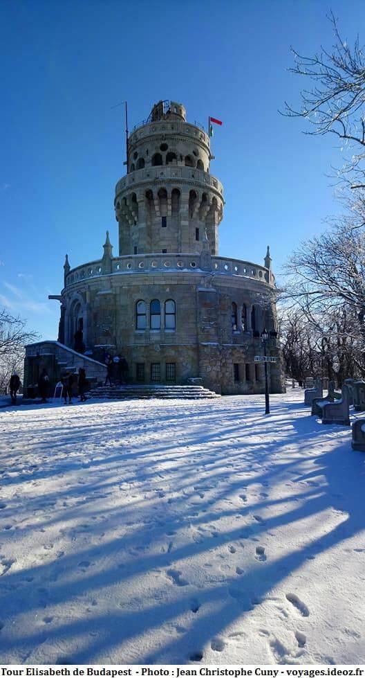 Tour Elisabeth à Budapest