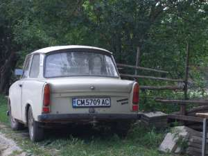 Trabant en Bulgarie centrale