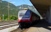 Train en Slovénie