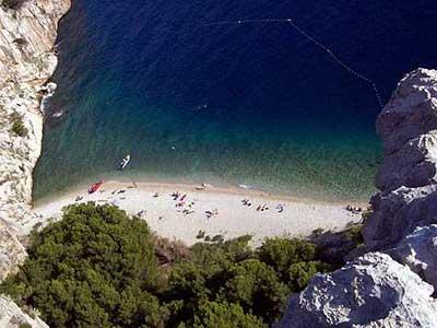 Tucepi Crique dans la riviera de Makarska