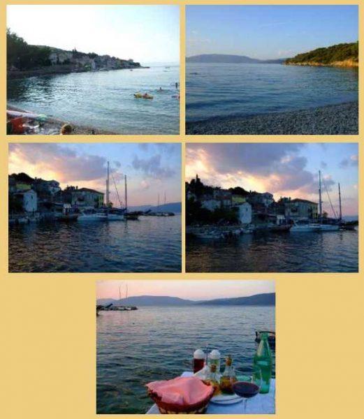 Valun village en croatie