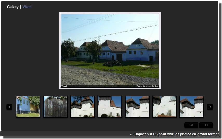 viscri village saxon en roumanie