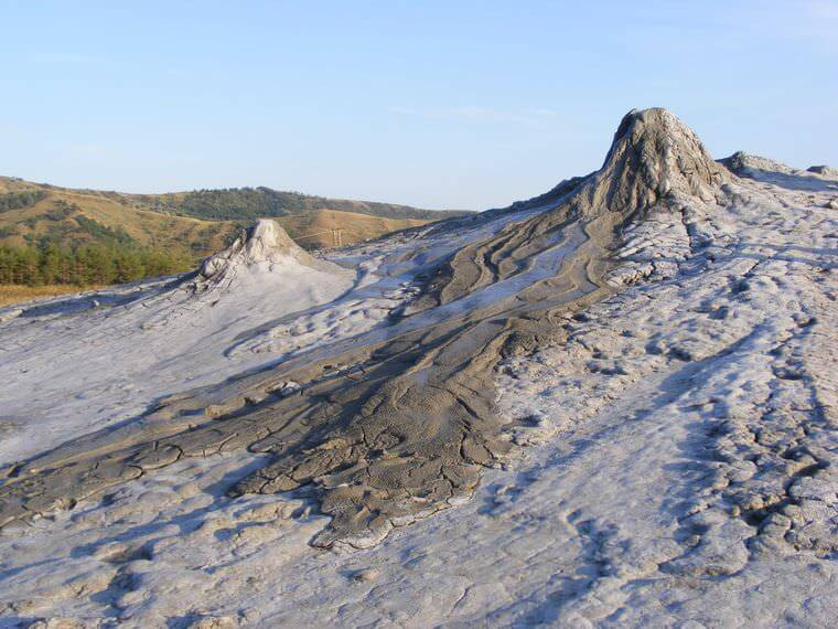 Volcans de Buzau conuri vulcanice mare