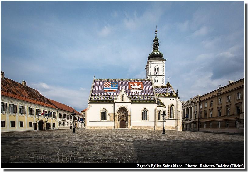 Zagreb eglise saint marc