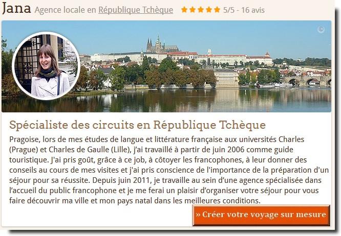 agence de voyage locale en republique tcheque