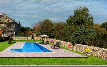 agrotourisme krka piscine