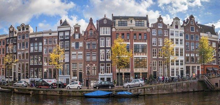 Amsterdam bord de canal