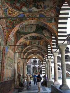 arcades du monastère Rila