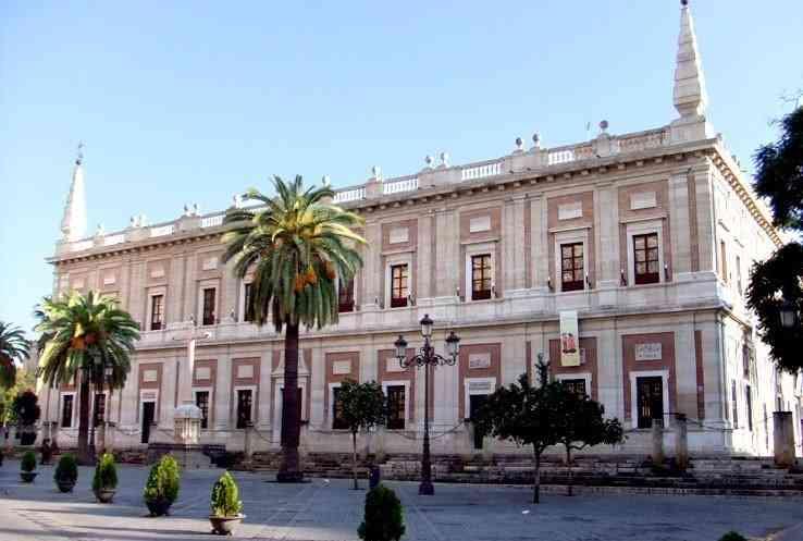 archive générale des Indes à Séville