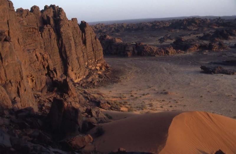 16 mars 2006 : ascension du belvédère d'Akar Fafadao
