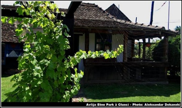 avlija etno park gusci maison