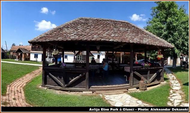 avlija etno park gusci restaurant