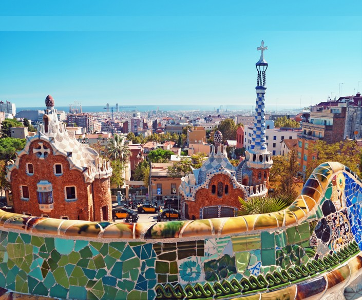 barcelone barcelona parque guell