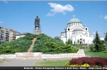 belgrade statue karageorge petrovic