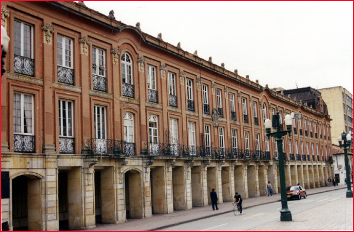 bogota colombie facades