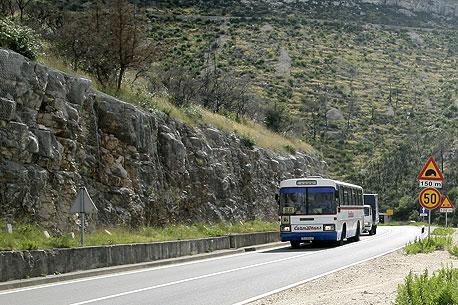 bus croatie