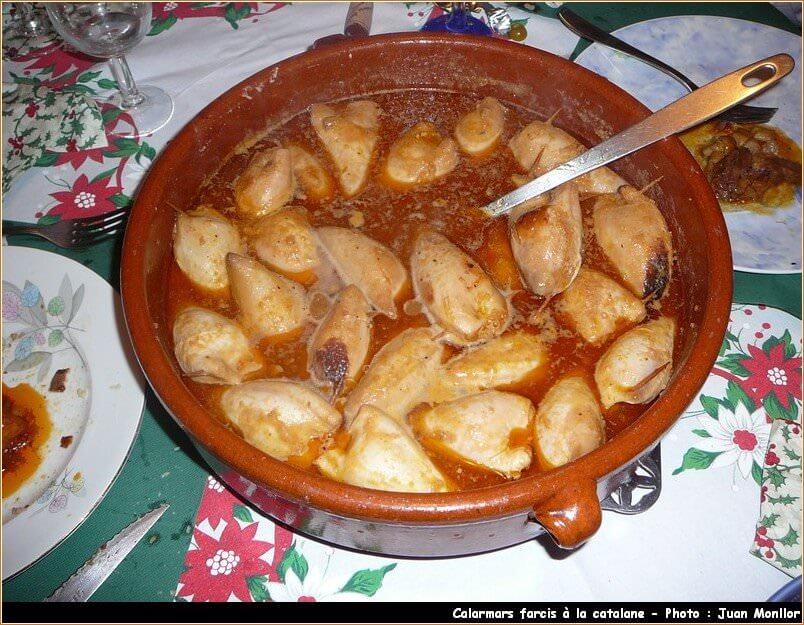 calamares calamars farcis à la catalane
