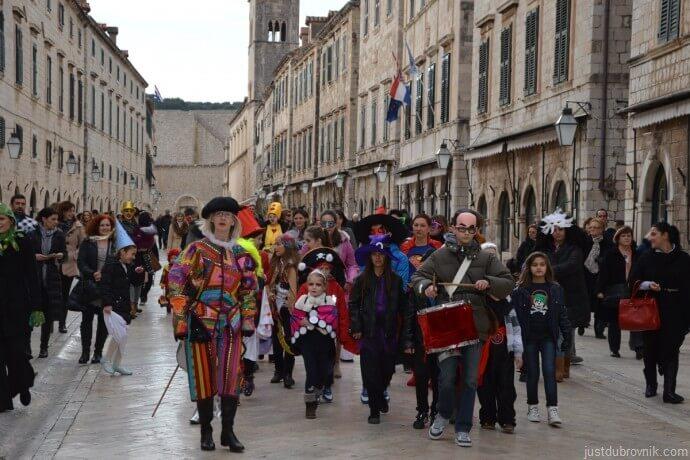 carnaval de dubrovnik