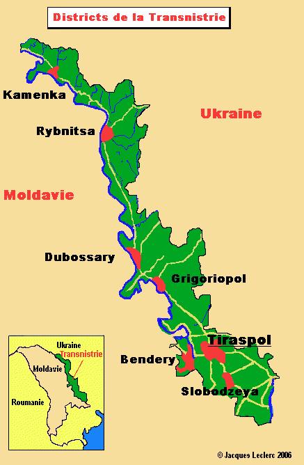 carte Transnitrie