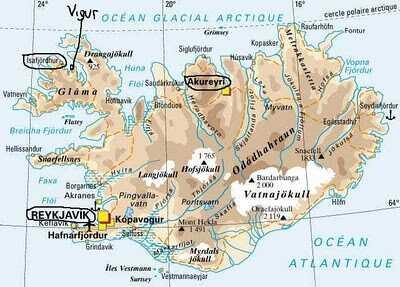 carte islande ile vigur