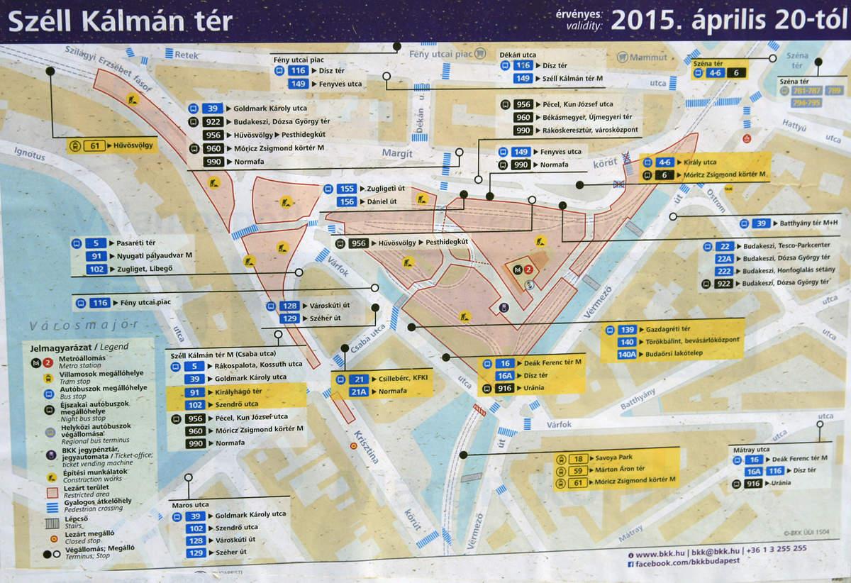 carte transports Budapest