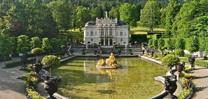 Chateau Linderhof, un paradis de Louis II dans les Alpes Bavaroises