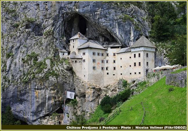 chateau Predjama Postojna Slovenie