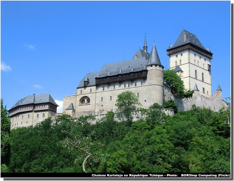 chateau de Karlstejn