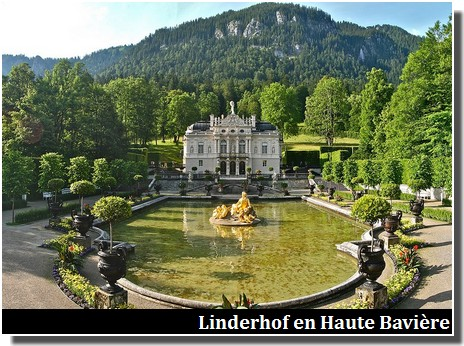 chateau de Linderhof Baviere