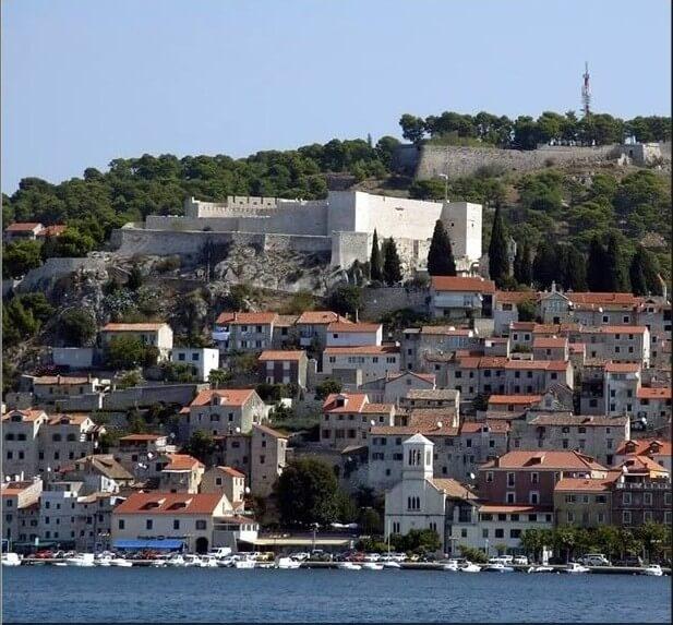 citadelle sainte anne Sibenik (1)