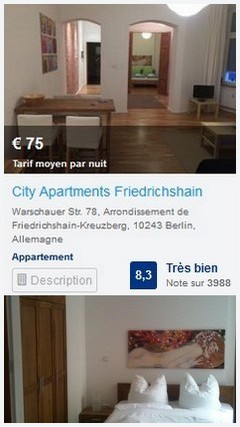 city apartment Berlin Friedrichshain
