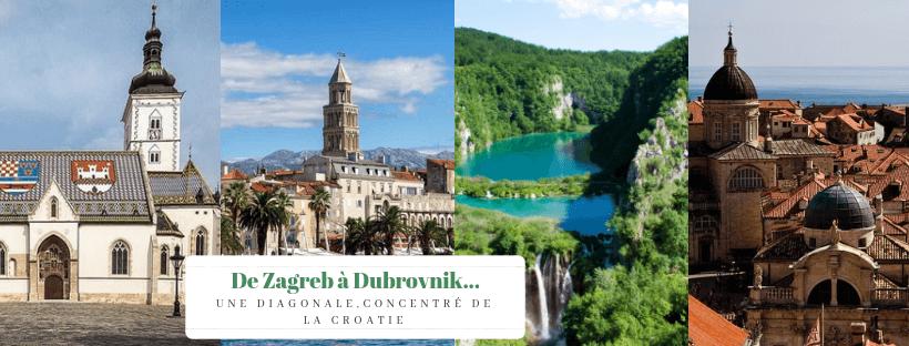 de zagreb à dubrovnik itinéraire classique en croatie