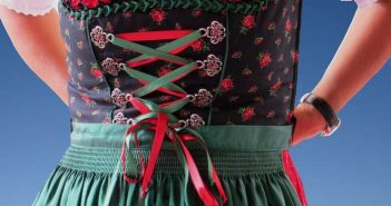dirndl vêtement tradition bavarois pour femmes