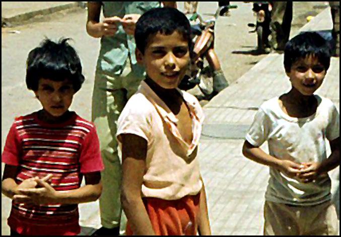 enfants marocains