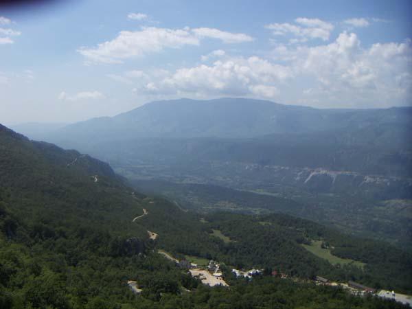 Ostrog paysage Montenegro