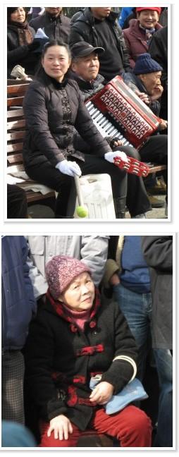 femmes Parc Lu Xun Shanghai