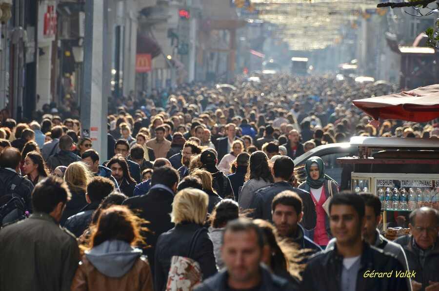 foule à istanbul