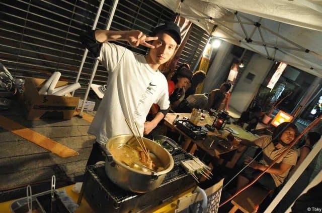 gion matsuri koto festival street food