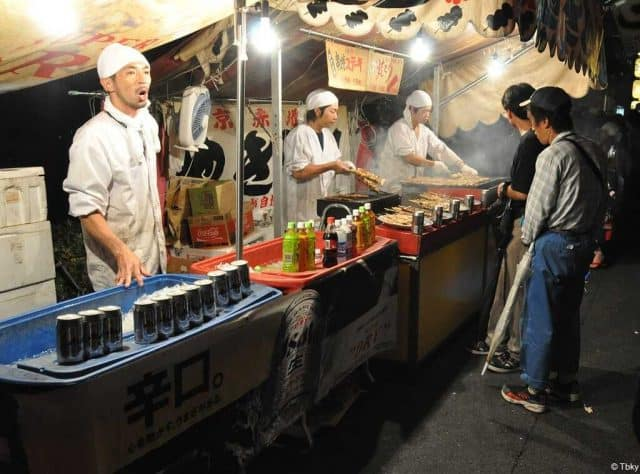 gion matsuri street food festival