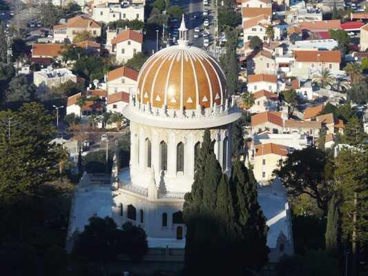 haifa coupole jardin de bahais