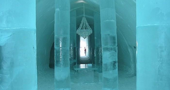 Ishotell Jukkasjarvi ; un hôtel de glace insolite en Laponie (Suède) 1