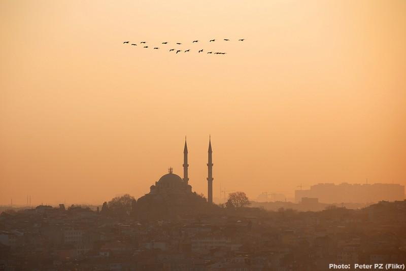 istanbul coucher de soleil