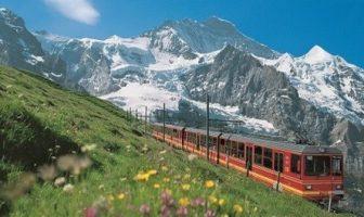 jungfrau train en suisse