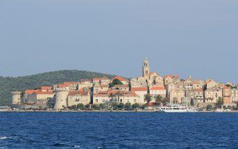 Korcula en Croatie