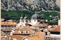kotor ancienne ville et église orthodoxe